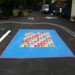 Thermoplastic Play Area Markings in Ballater 12