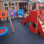 Thermoplastic Play Area Markings in Bilsby Field 6