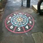 Thermoplastic Play Area Markings in Gloucestershire 2