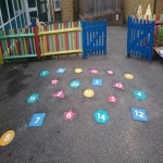 Thermoplastic Play Area Markings in Bocombe 1