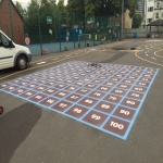 Educational Playground Markings in City of Edinburgh 6