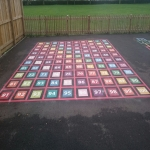 Thermoplastic Play Area Markings in Derry 1