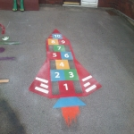 Thermoplastic Play Area Markings in Angersleigh 4