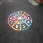 Thermoplastic Play Area Markings in Derry 10