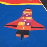 Thermoplastic Play Area Markings in Aberfan 11