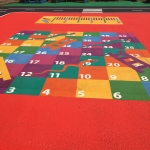 Thermoplastic Play Area Markings in Achfary 4