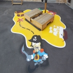 Thermoplastic Playground Graphics in Almondbank 3