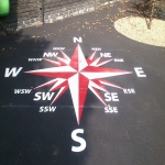 Thermoplastic Play Area Markings in Monmouthshire 2