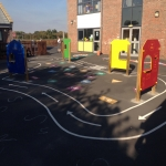 Thermoplastic Play Area Markings in Derry 6