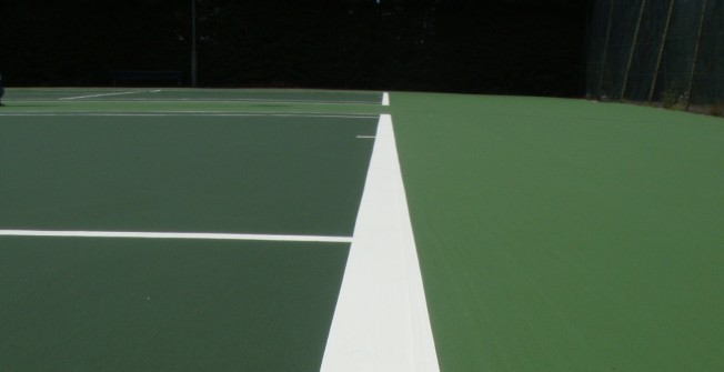 Court Lining Designs in Abridge