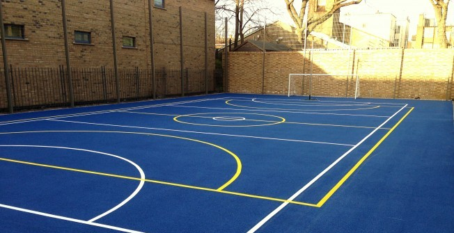 Netball Line Marking Installation  in Kent