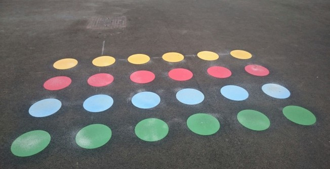 Playground Marking Restoration in Dungannon
