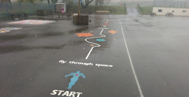 Playground Markings Removal in Little Tey