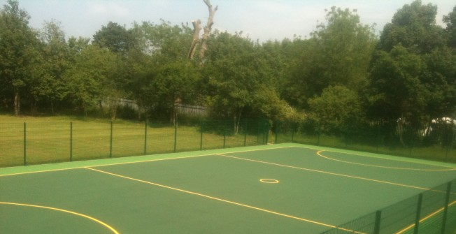 Artificial Sports Court in Kent
