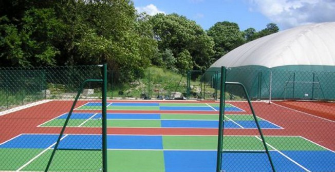 MUGA Court Installation Design in Aberedw