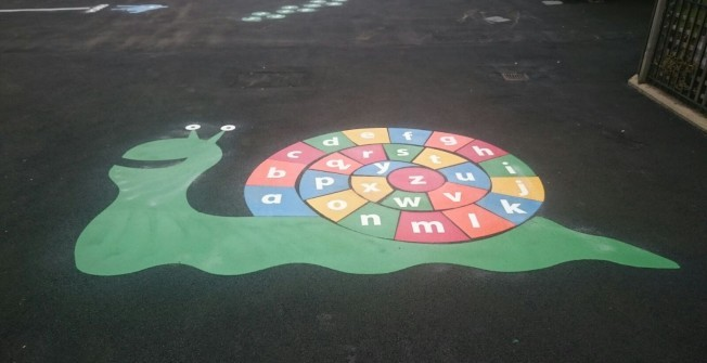 Play Area Graphics in Bilsby Field